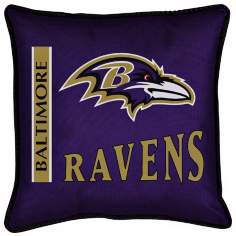 NFL Baltimore Ravens Sidelines Pillow