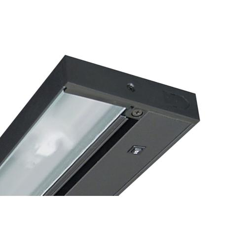 "30"" Juno Pro-LED Black Hardwired Undercabinet Light - #2D939"