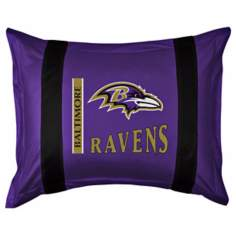 NFL Baltimore Ravens Sidelines Pillow Sham