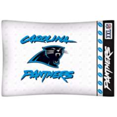 NFL Carolina Panthers Sidelines Pillow Case