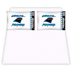 NFL Carolina Panthers Micro Fiber Sheet Set