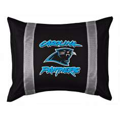 NFL Carolina Panthers Sidelines Pillow Sham