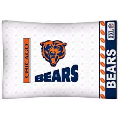 NFL Chicago Bears Sidelines Pillow Case