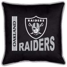 NFL Oakland Raiders Sidelines Pillow