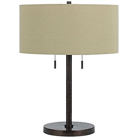 Spiga Rust Table Lamp