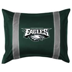 NFL Philadelphia Eagles Sidelines Pillow Sham
