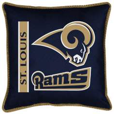 NFL Saint Louis Rams Sidelines Pillow