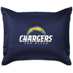 NFL San Diego Chargers Locker Room Pillow Sham