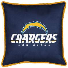 NFL San Diego Chargers Sidelines Pillow