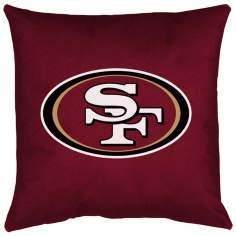 NFL San Francisco 49ers Locker Room Pillow