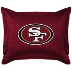 NFL San Francisco 49ers Locker Room Pillow Sham