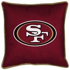 NFL San Francisco 49ers Sidelines Pillow