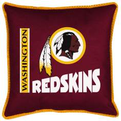 NFL Washington Redskins Sidelines Pillow