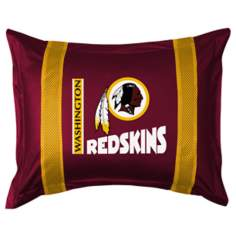 NFL Washington Redskins Sidelines Pillow Sham