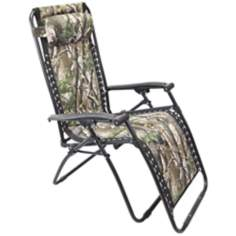 Zero Gravity Camouflage Outdoor Chaise Lounge
