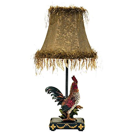Petite Rooster Ainsworth Table Lamp