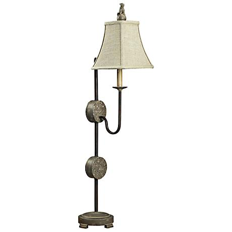 Antoine Montauk Grey Table Lamp