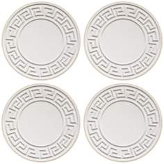 Hindostone Set of 4 Greek Key Coasters