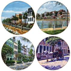 Hindostone Set of 4 Charleston Coasters