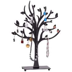 Mele & Co. Lisa Metal Tree Black Jewelry Stand