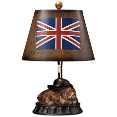Wakefiled Hand-Painted Shade Princeton Table Lamp
