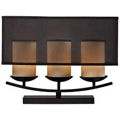 Bakersfield Dark Chocolate Bronze Table Lamp