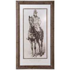 Emperor Napoleon Art Print Under Glass