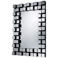 "Valaparaiso 42"" High Contemporary Wall Mirror"
