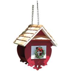 Wren Red Feeder