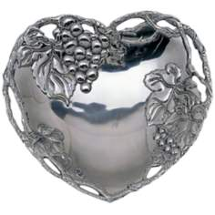 Arthur Court Heart Coupe Tray