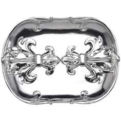 Arthur Court Fleur-de-Lis Catch All Tray