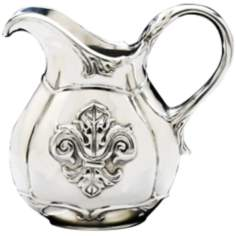Arthur Court Fleur-de-Lis 1 Quart Small Pitcher