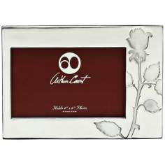 Arthur Court Rose 4x6 Photo Frame
