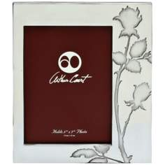 Arthur Court Rose 5x7 Photo Frame
