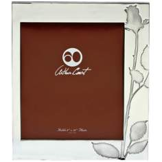 Arthur Court Rose 8x10 Photo Frame