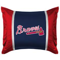 MLB Atlanta Braves Sidelines Pillow Sham