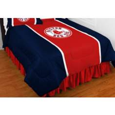 MLB Boston Red Sox Sidelines Comforter