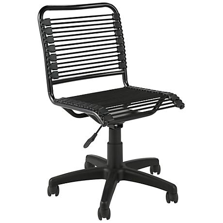 Bungie Low-Back Black and Graphite Office Chair