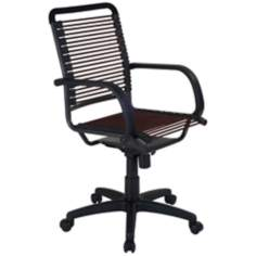 Bungie High-Back Graphite Black and Brown Office Chair