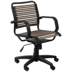Bungie Mid-Back Graphite Black and Brown Office Chair