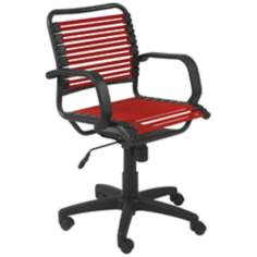 Bungie Mid-Back Graphite Black and Red Office Chair
