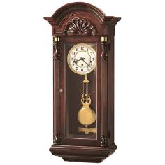 "Howard Miller Jennison 33 1/2"" High Wall Clock"