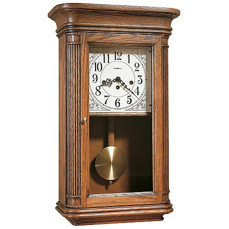 Wall Clocks Lamps Plus : Howard Miller Sandringham 24