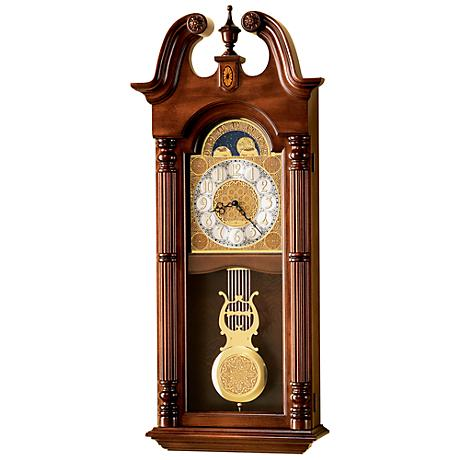 "Howard Miller Maxwell 36 1/4"" High Wall Clock"