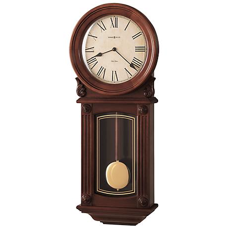 "Howard Miller Isabel 28"" High Wall Clock"