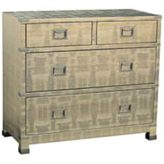 Reflections Upholstered Accent Chest
