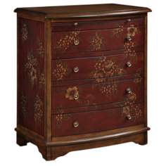 Blossom Wood Accent Chest