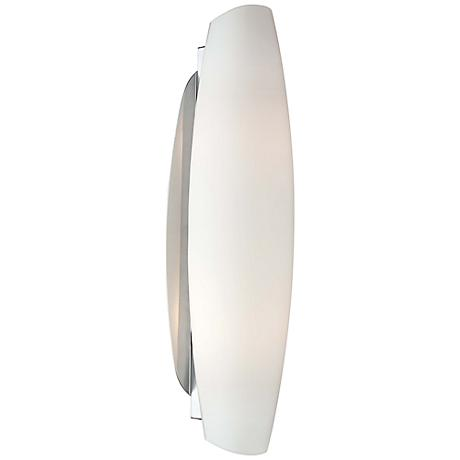 "George Kovacs 16 3/4"" High LED Opal Glass Wall Sconce"