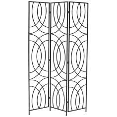Orb 3-Panel Iron Room Divider