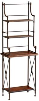 Sydney 4-Shelf Wood and Iron Bakers Rack (2J315)